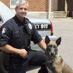 WPD K9 Receives Body Armor