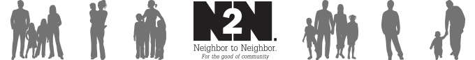 Banner image for the Neighbor to Neighbor web page.