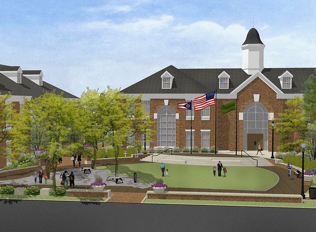 Civic Green Rendering.