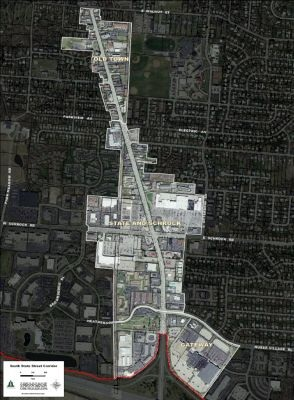 South State Street Map (Small)