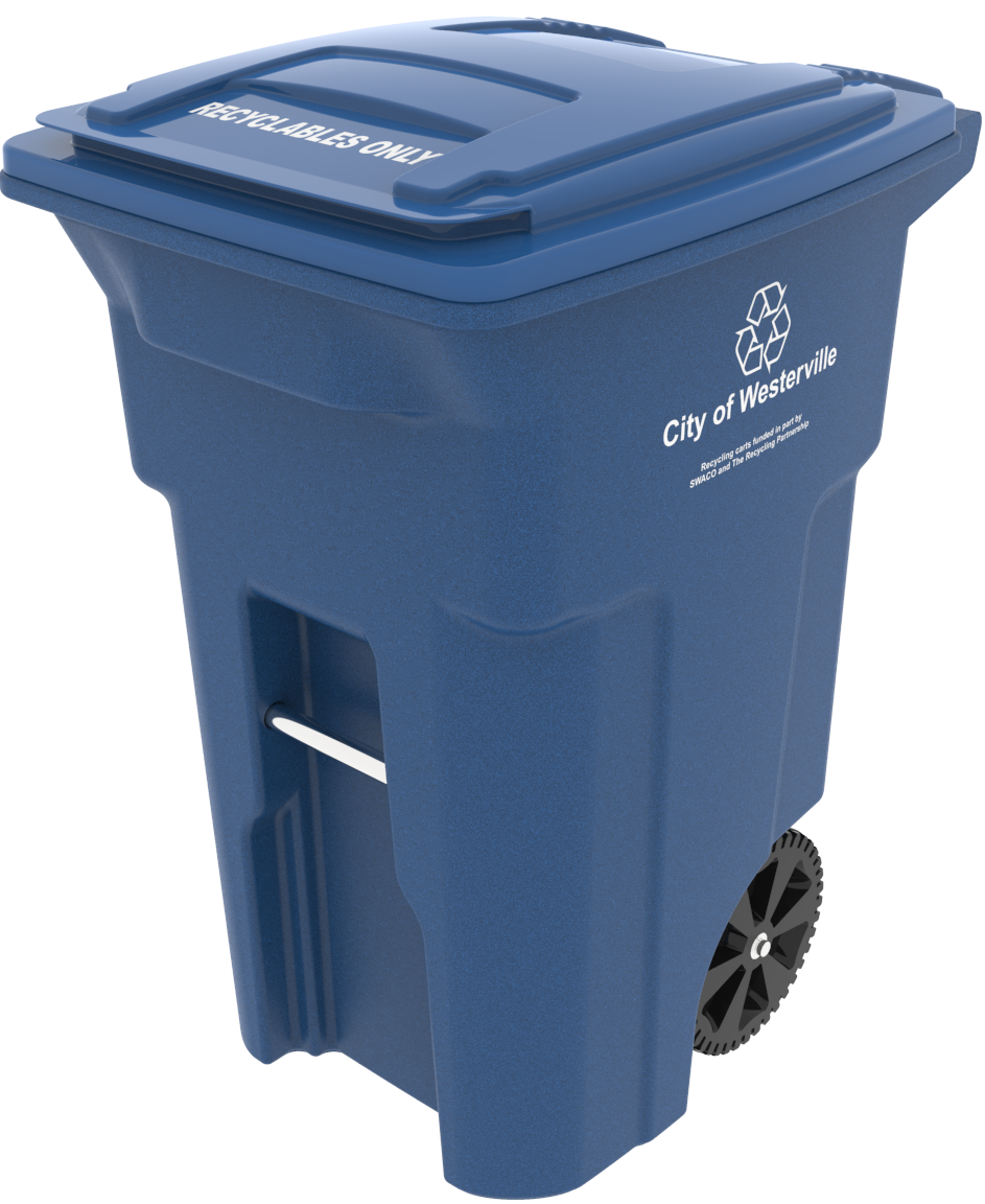 Westerville Recycling Cart