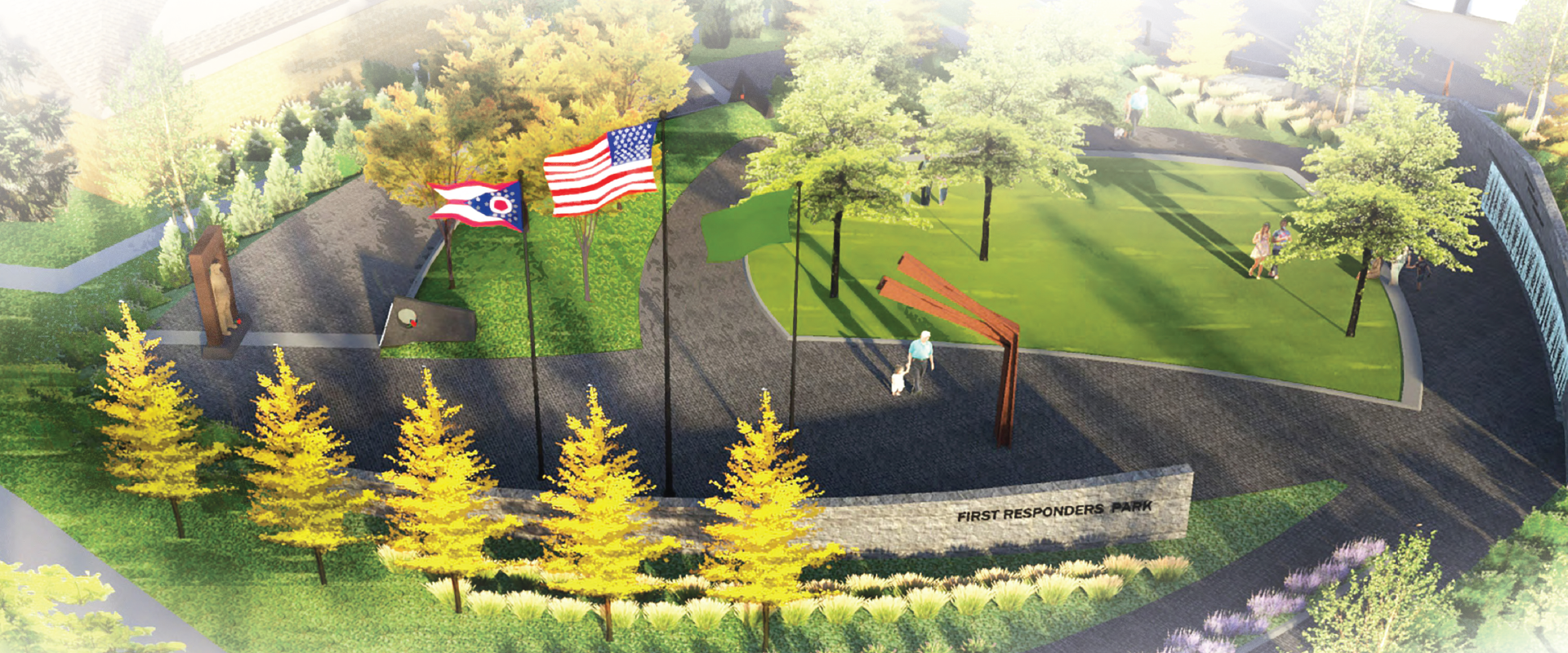 First Responders Park Updated