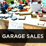 garage and yard sales