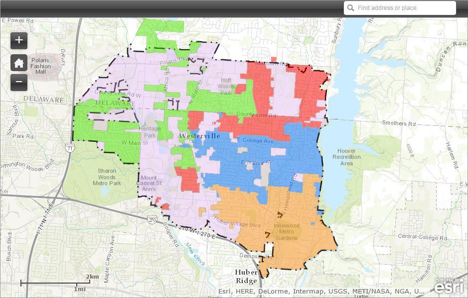 GIS_AMI Map