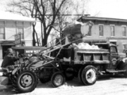 Snow - snow removal circa 1951 (State St south of College Ave)